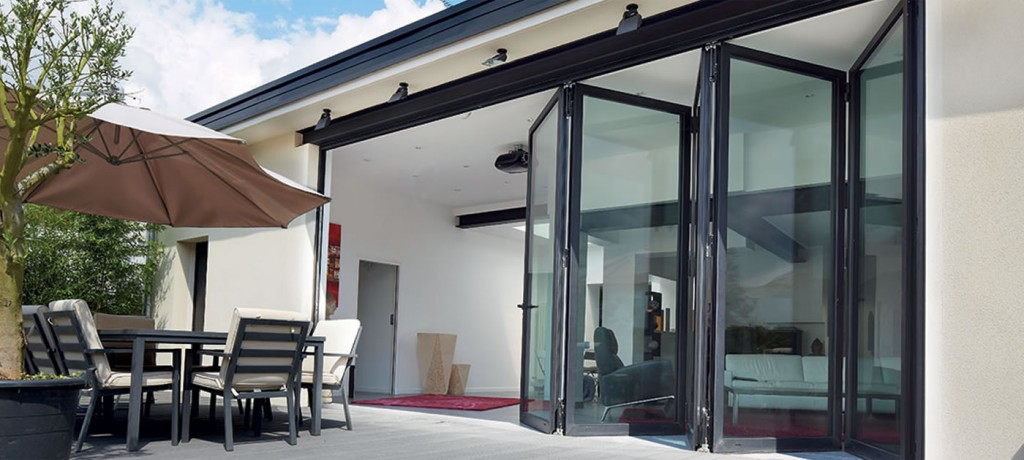 Sliding folding doors: should they open inwards or outwards?