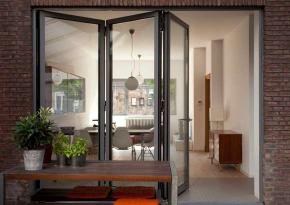 Bifold doors - extend your room