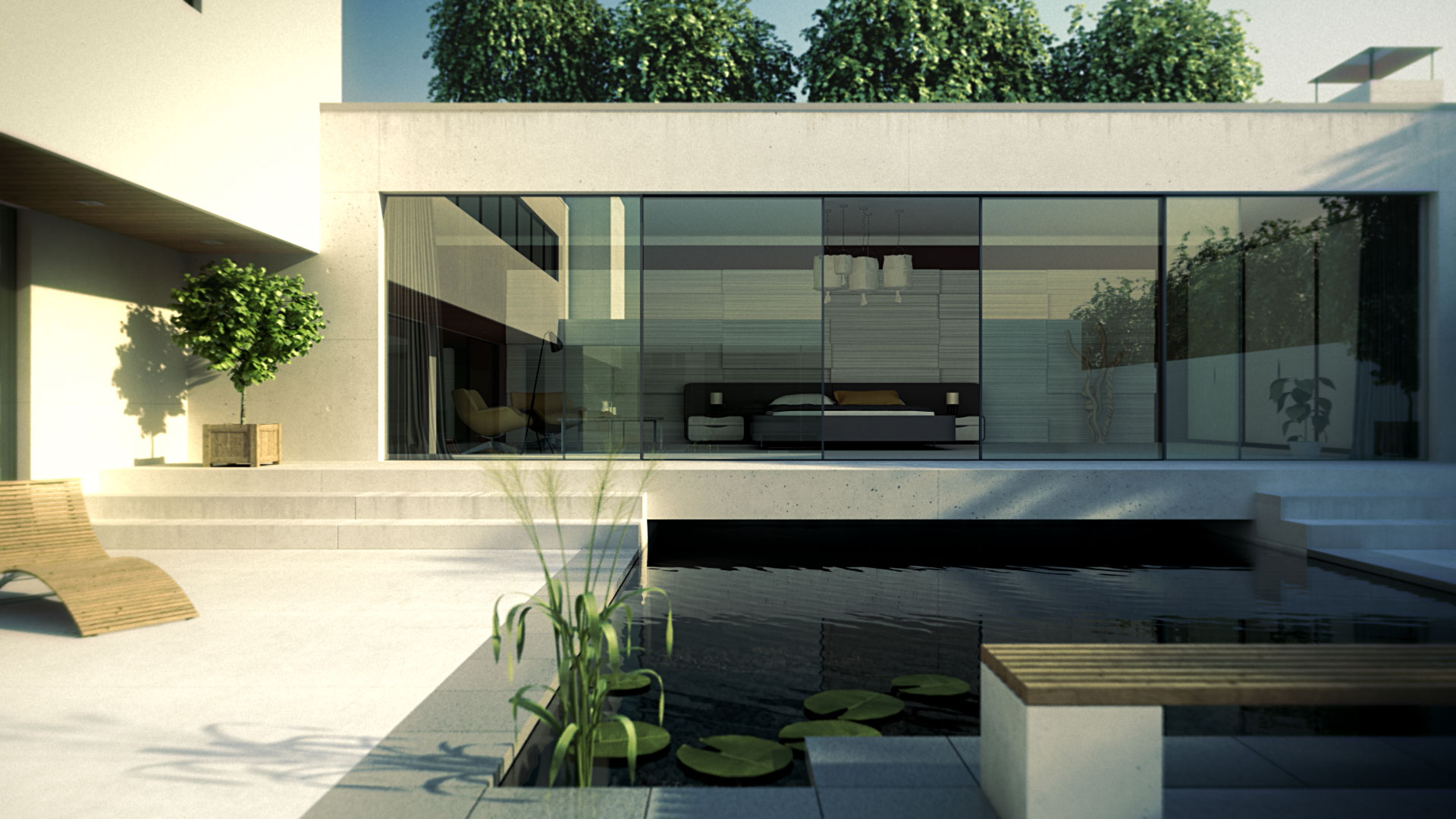 Hi finity sliding patio doors reynaers at home for Floor to ceiling glass panels