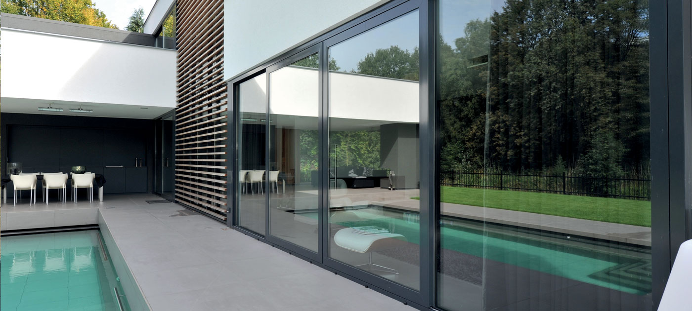Aluminium Sliding Patio Doors Reynaers At Home