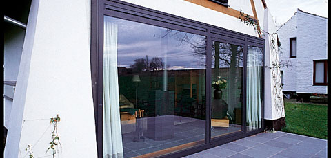 Sliding Patio Doors For A Barn Conversion Reynaers At Home