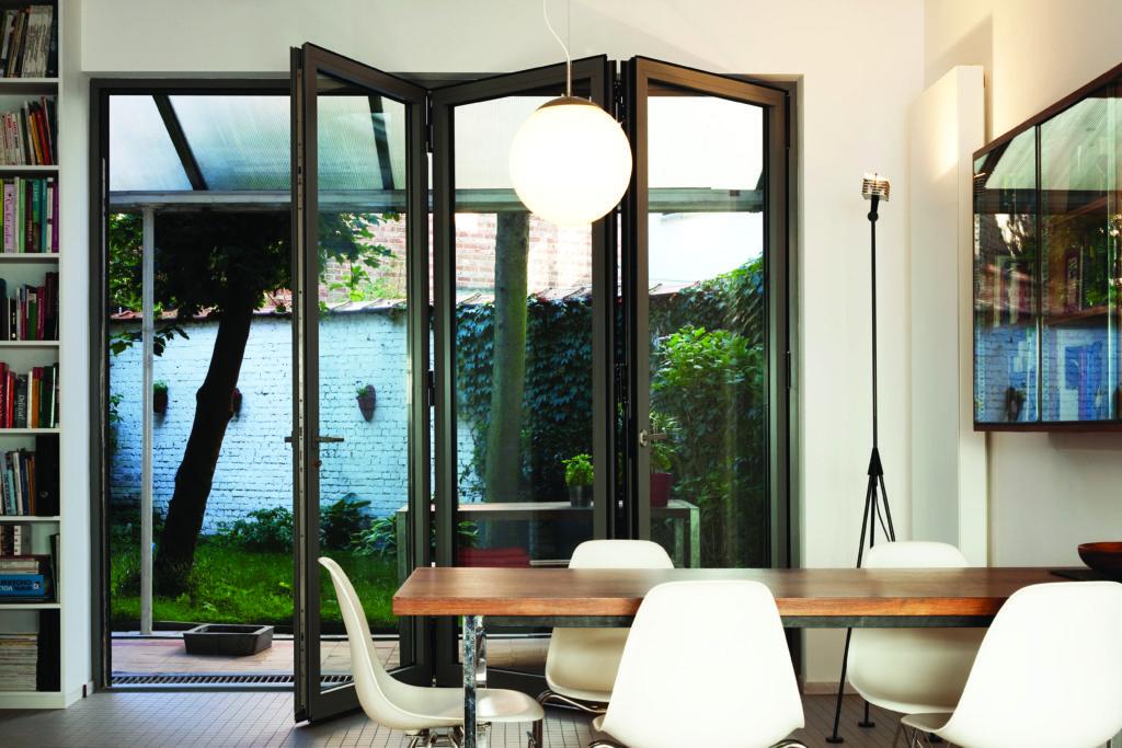 aluminium bifold doors antwerp home