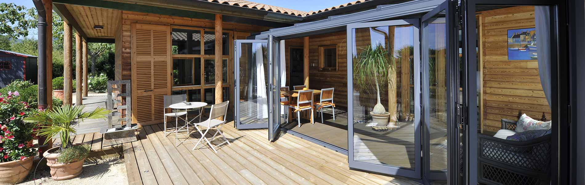 Aluminium Bifold Doors Reynaers At Home