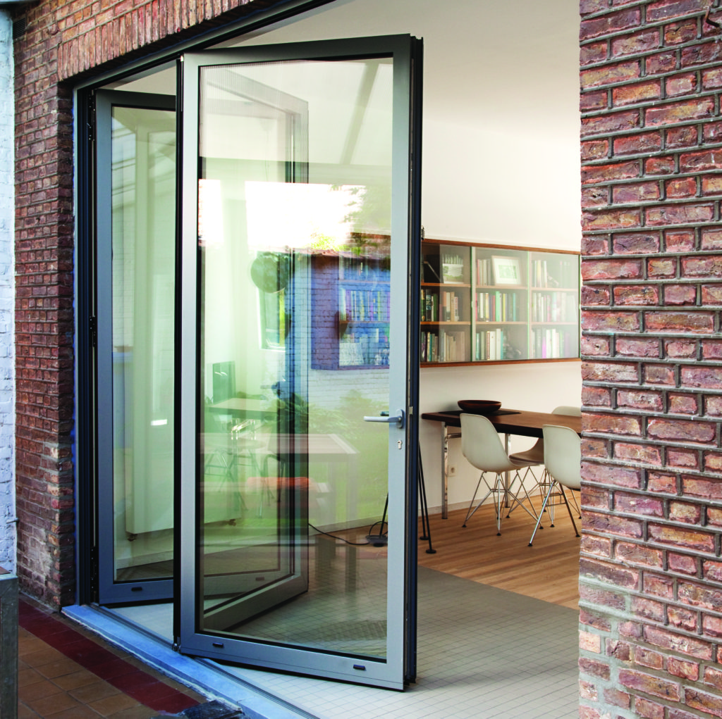 internal stacking bi fold doors