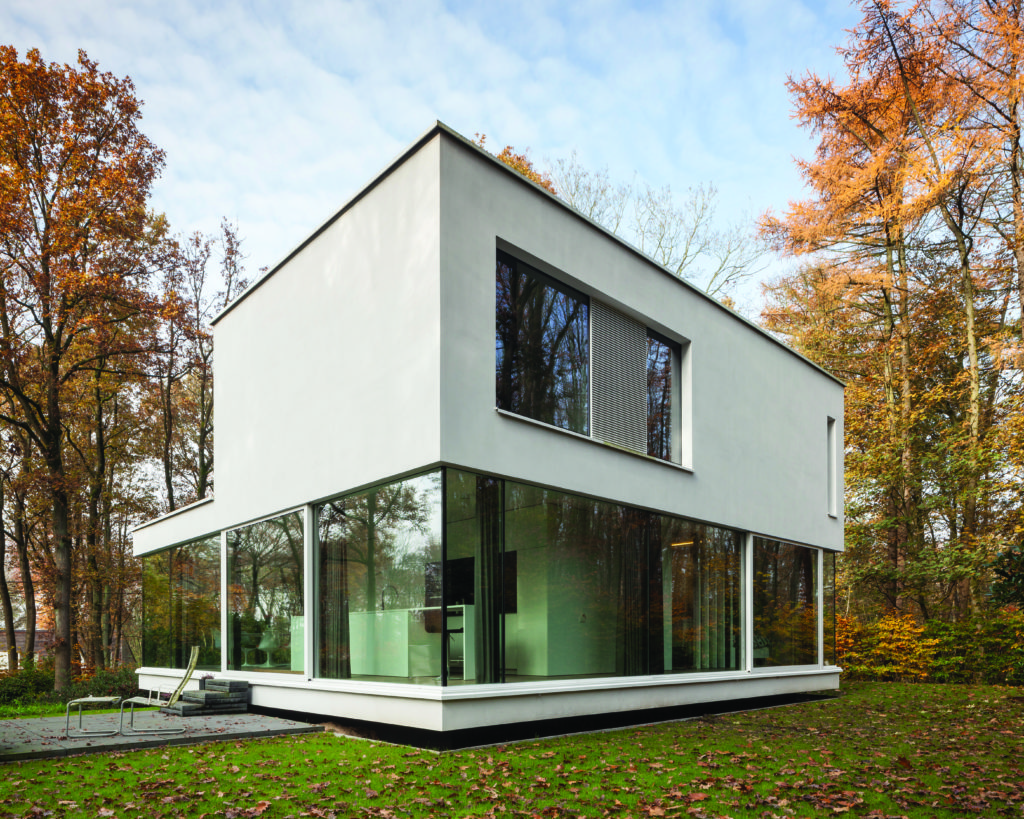 aluminium sliding doors in small home