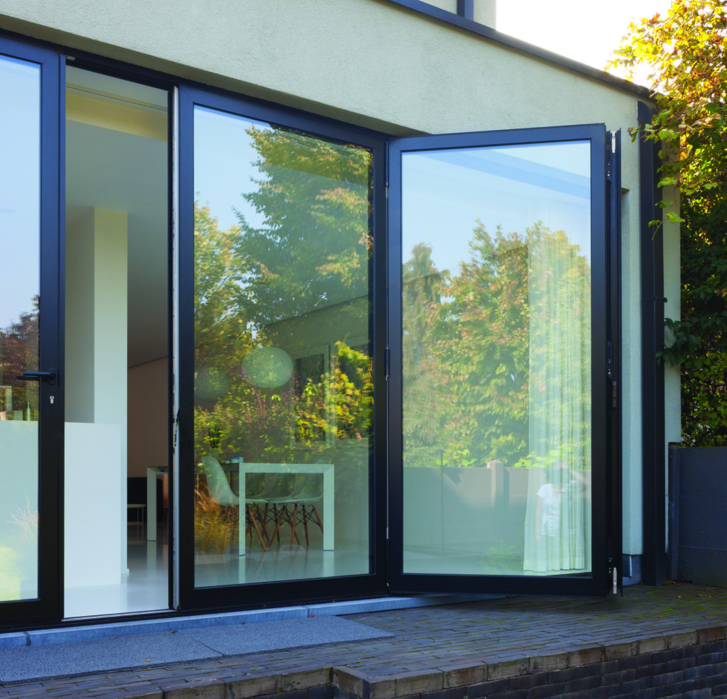 external stacking bi fold doors uk